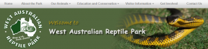 West Australian Reptile Park in Perth