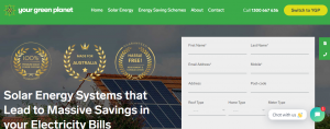 Your Green Planet Solar Energy Company in Melbourne