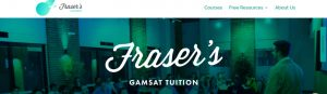 Fraser's GMAT Tuition in Melbourne