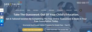 Spectrum Tuition Services in Melbourne