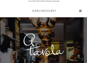 A Tavola Darlinghurst Italian Restaurant in Sydney
