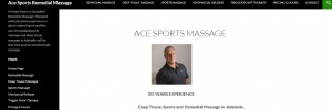 Ace Sports Massage Therapist in Adelaide