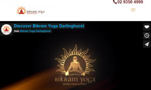 Bikram Yoga Studio in Darlinghurst, Sydney