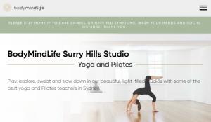 BodyMindLife Yoga Studio in Surry Hills, Sydney
