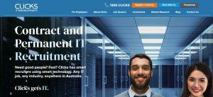 Clicks IT Recruitment in Canberra