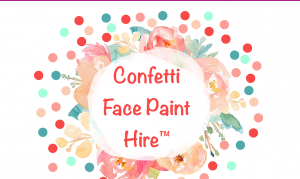 Confetti Face Painting Services in Gold Coast