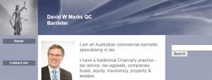 David W Marks QC, Barrister in Brisbane