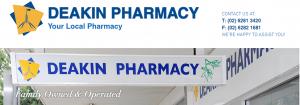 Deakin Pharmacy in Canberra