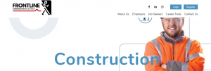 Frontline Construction Recruitment in Canberra