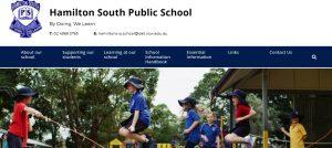 Hamilton South Public School in Newcastle