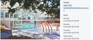 Harold Swim Centre in Melbourne