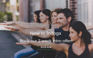 InYoga Studio in Sydney