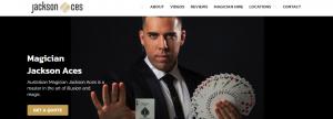 Jackson Aces Magician Hire in Sydney