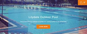 Lilydale Outdoor Pool in Melbourne