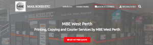 MBE Courier Services in Perth