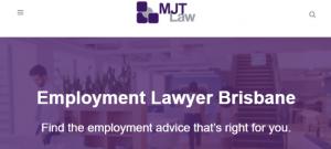 MJT Law Employment Lawyers in Brisbane