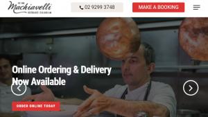 Machiavelli Italian Restaurant in Sydney