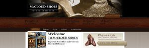 McCloud Shoes in Melbourne