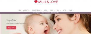 Milk and Love Maternity Shop in Brisbane