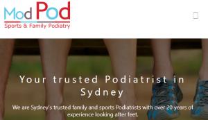 ModPod Sports Podiatry Sydney