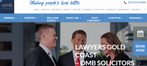 OMB Solictors and Corporate Lawyers in Gold Coast