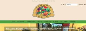 Organic Energy Health Foods in Canberra