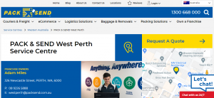 Pack and Send in West Perth