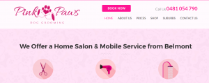Pink Paws Grooming Services in Perth