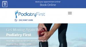 PodiatryFirst in Sydney