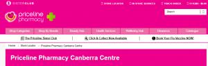 Priceline Pharmacy in Canberra