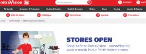 RetraVision Refrigerator Store in Perth