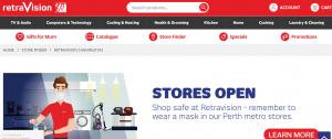 Retravision Television Store in Perth