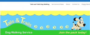 Tails and Trails Dog Walking Service in Newcastle