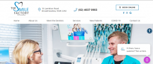 The Smile Factory Dental Clinic in Newcastle