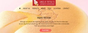 Uncle Tetsu's Japanese Cheesecake Shop in Melbourne