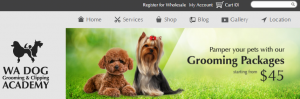 WA Dog Grooming and Clipping Academy in Perth