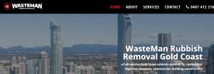 Wasteman Rubbish Removal in Gold Coast