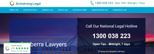 Armstrong Legal Divorce Lawyers in Canberra