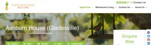 Ashburn House Aged Care in Sydney