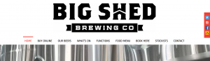 Big Shed Brewing Concern in Adelaide