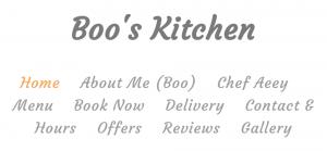 Boo's Kitchen Thai Restaurant in Brisbane