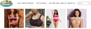 Bras in Paradise Lingerie and Sleepwear Store in Gold Coast