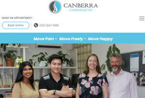 Canberra Chiropractic for Pain Management Treatments