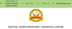 Capital Complementary Therapies Centre in Canberra