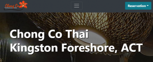 Chong Co Thai Restaurant in Canberra