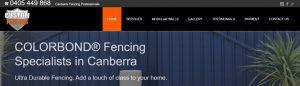 Custom Fencing in Canberra