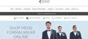 Ferrari Formalwear & Bridal in Melbourne