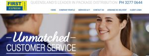 First Express Couriers in Gold Coast