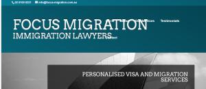 Focus Migration in Canberra