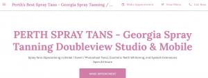 Georgia Spray Tanning Salon in Perth